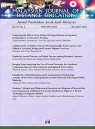 Malaysian Journal of Distance Education