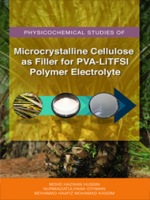 Physicochemical Studies of Microcrystalline Cellulose (MCC) AS Filler for PVA-LiTFSI Polymer Electrolyte