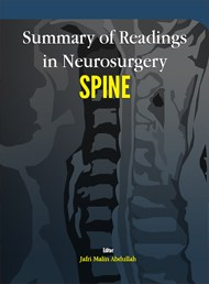 Summary of Readings in Neurosurgery SPINE