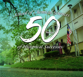 School of Chemical Sciences 50 Years